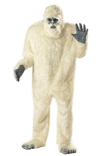 Plus Size Yeti Abominable Snowman Mascot Costume