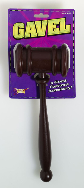 Fun Judge Gavel Accessory