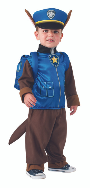 Toddler's Chase the Police Dog Paw Patrol Costume