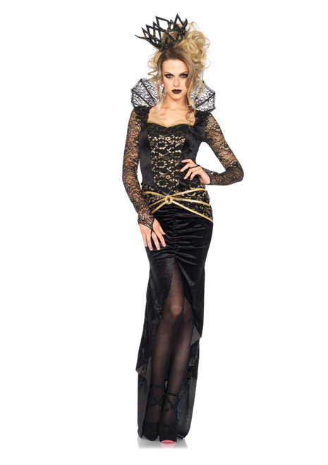 Deluxe Evil Queen Ladies Costume