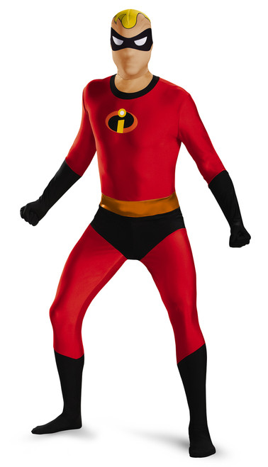 Mr Incredible Bodysuit Adult Costume