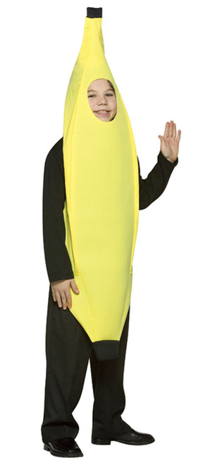Light Weight Kids Banana Costume