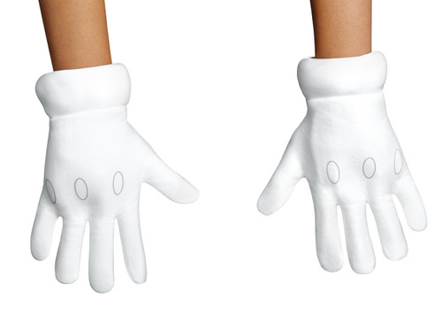 Ninteno's Mario Brothers Adult Gloves