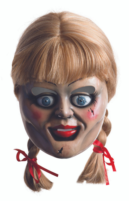 The Conjuring Annabelle Wig and Mask