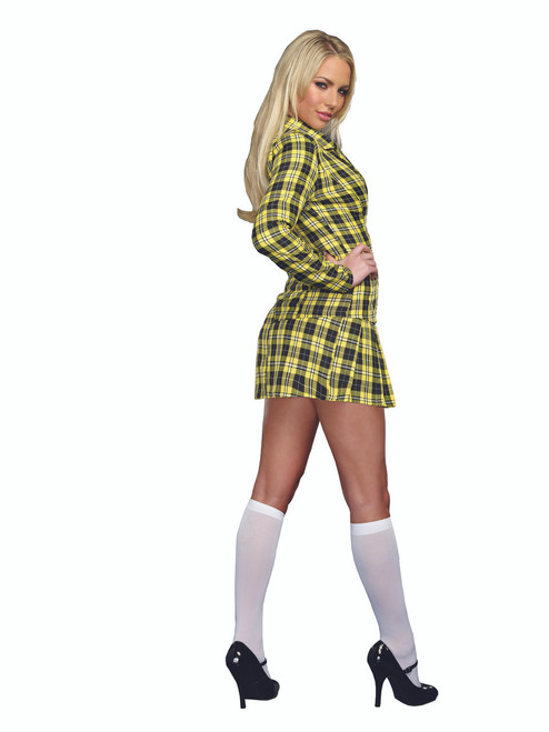 Ladies Fancy Girl Sexy School Uniform Costume The Costume Shoppe