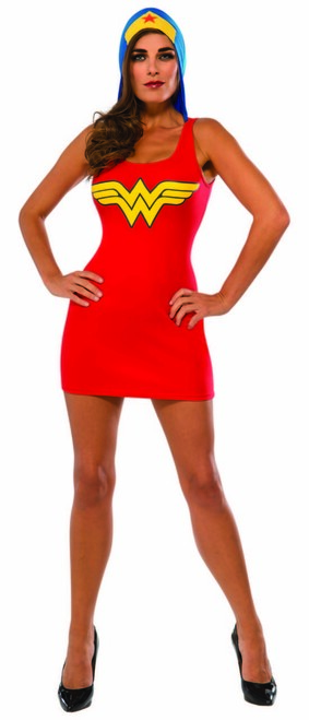 Wonder Woman Hoodie Dress