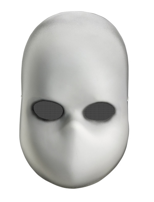 Blank Doll Face Horror Mask