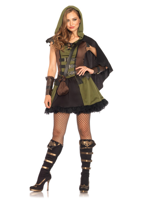 Ladies Darling Robin Hood Costume