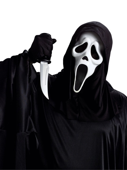 Ghost Face Mask and Knife Accessory Set