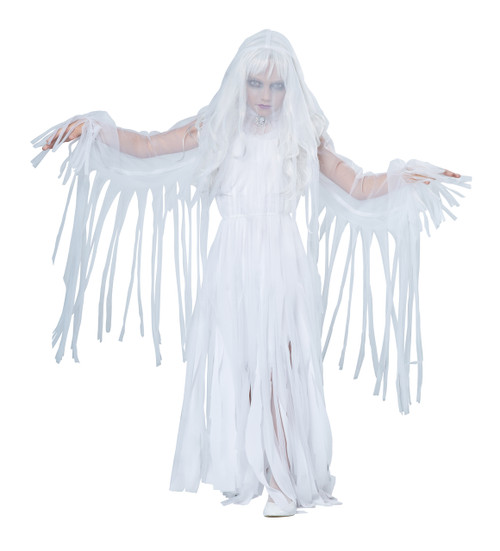 Kids Ghostly Girl Costume with Veil
