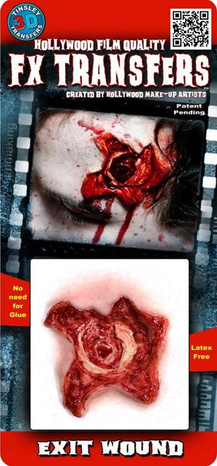 Bullet Hole Exit Wound, Easy FX Transfer