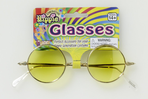 Yellow Hippie Glasses