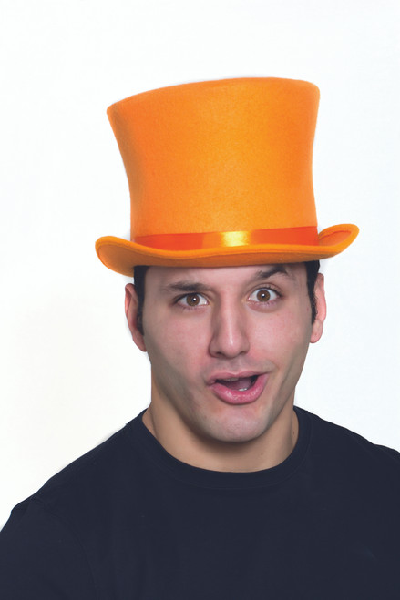 Orange Bell Dumb and Dumber Top Hat