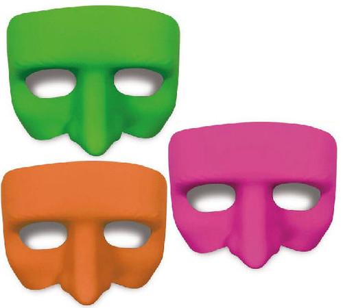 Gonzo Black Light Reactive Half Mask