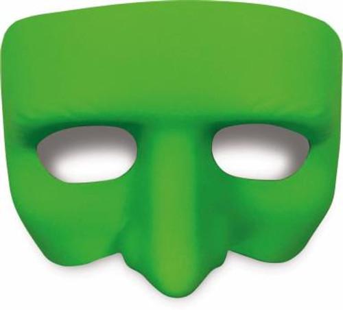 Green Black Light Reactive Half Mask