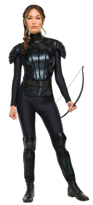 Deluxe Katniss Everdeen Ladies Costume, Catching Fire