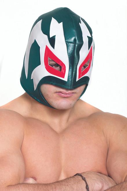 Green Mexican Wrestler Mask