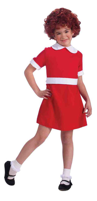 Children's Orphan Annie Costume