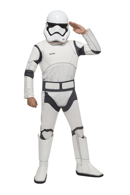 Deluxe Kids Stormtrooper Star Wars Force Awakens Costume