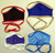 Non-Medical Fabric Face Masks (Assorted Colours)