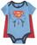Infants Superman Caped Bodysuit