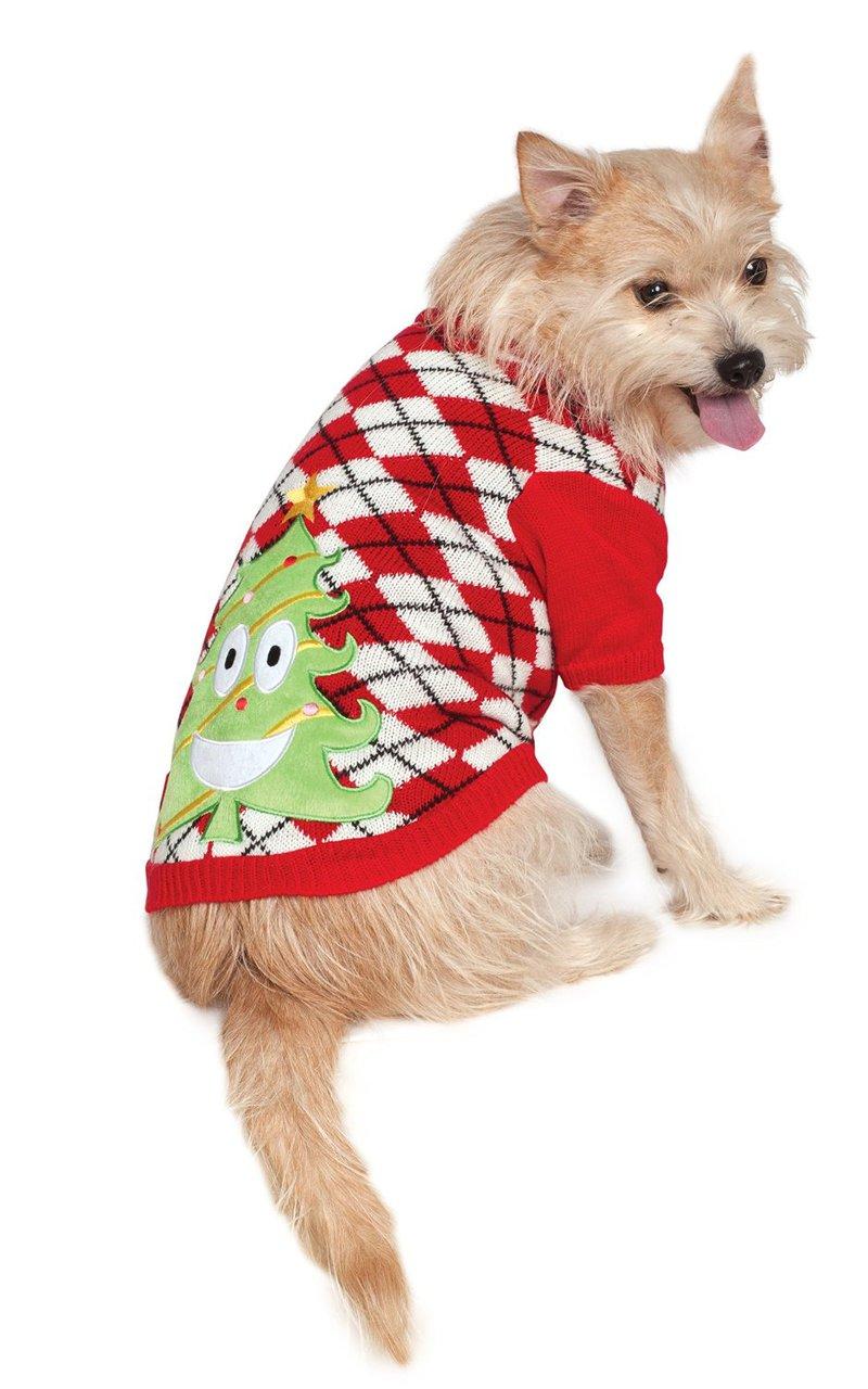 Ugly Dog Christmas Sweaters.Ugly Christmas Sweater Pet Costume