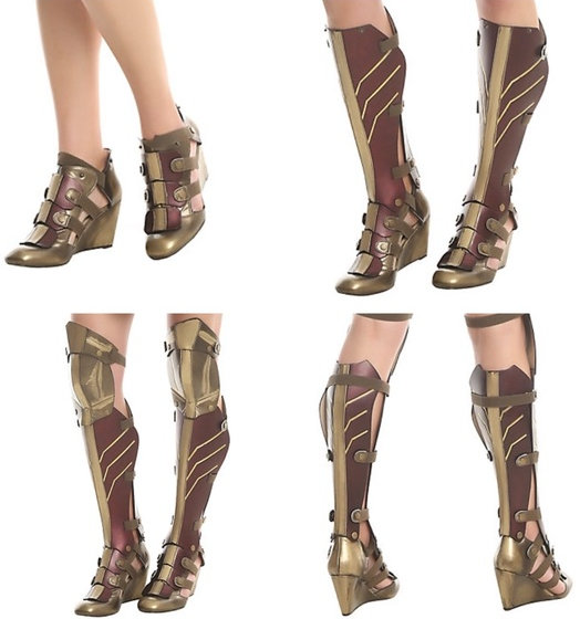 cebd33a45a Licensed Wonder Woman Boots - The Costume Shoppe