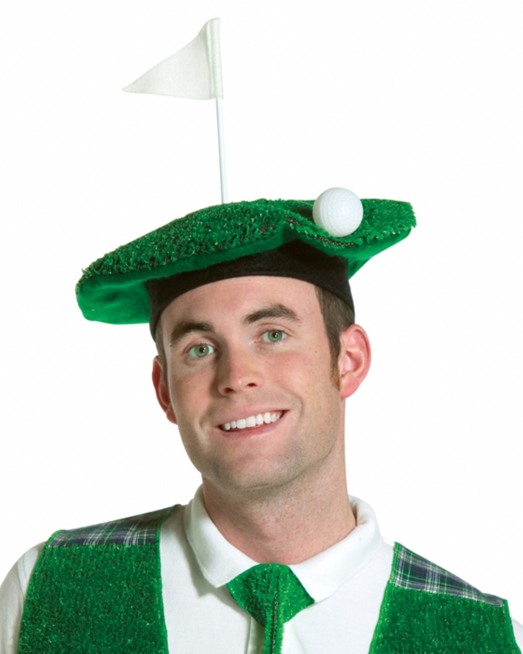 Hole in One Scottish Golfer Hat - The Costume Shoppe 7244bf1e7880