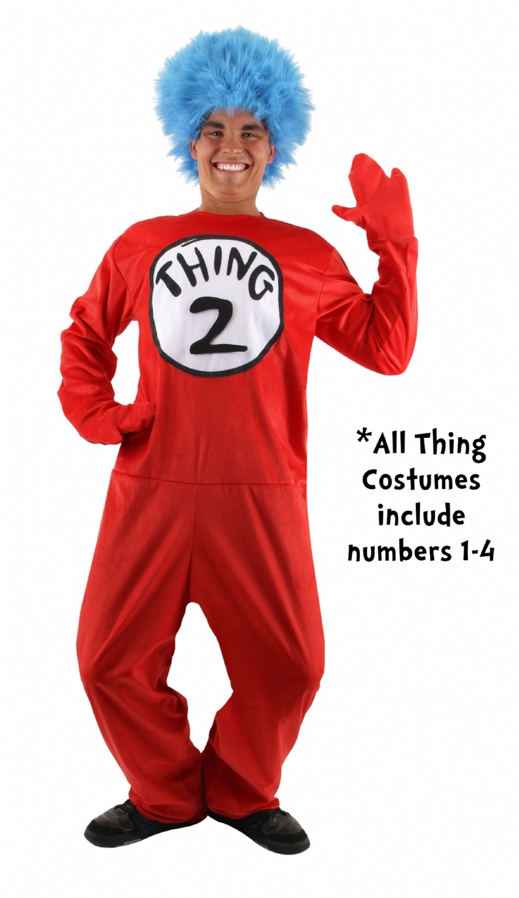 Cat in the Hat Thing 1 and Thing 2 Costume - The Costume Shoppe 1e79f4c15