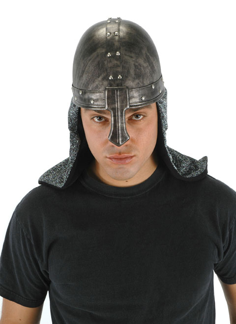 f8120dd2e9c Medival Knight Warrior Helmet Hat - The Costume Shoppe