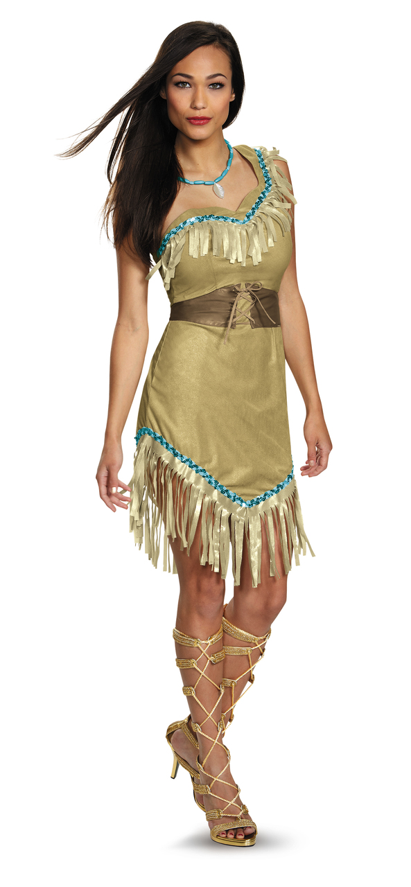 e737095667f Prestige Pocahontas Plus Size Costume - The Costume Shoppe