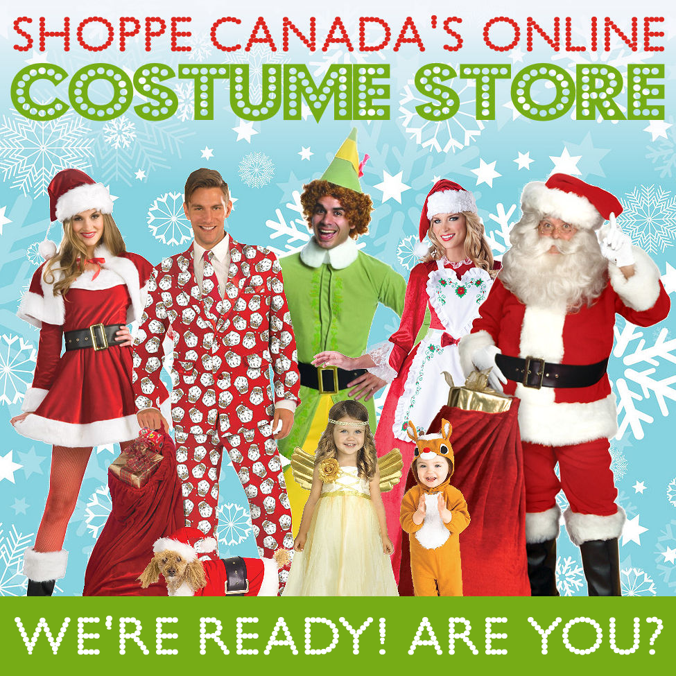 Christmas & The Holidays @ The Costume Shoppe!