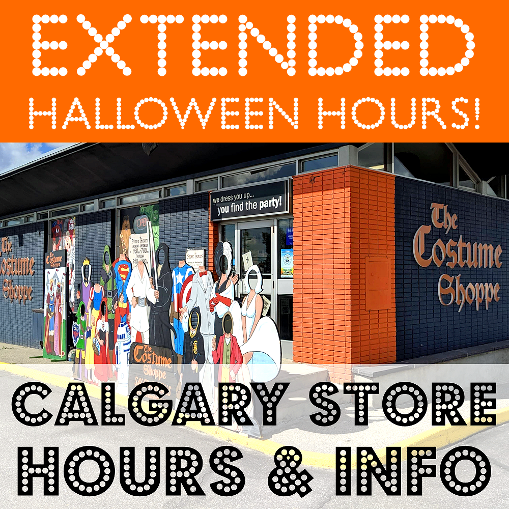The Costume Shoppe Canada Store Location & Hours