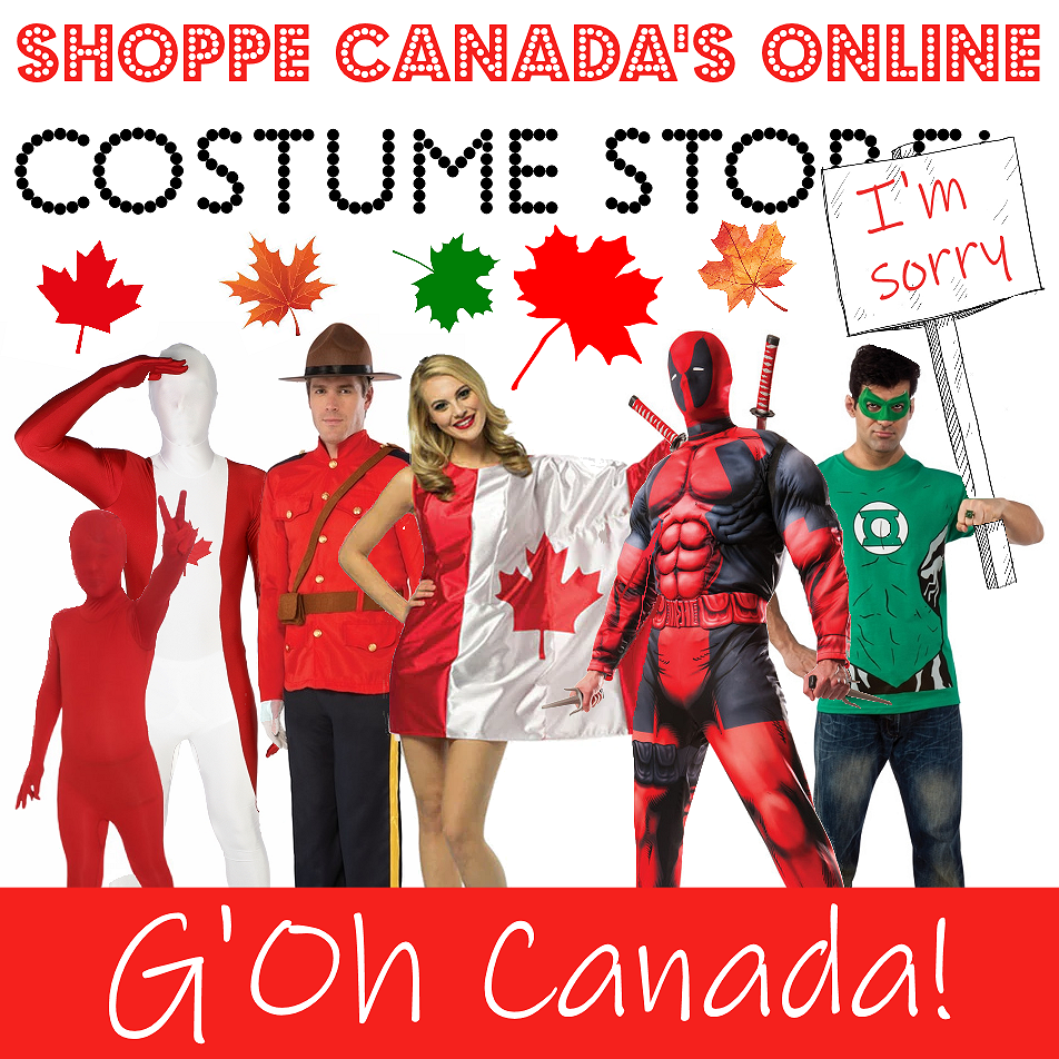 The Costume Shoppe Online Store | Buy Costumes Online! Free Shipping Available in Canada!