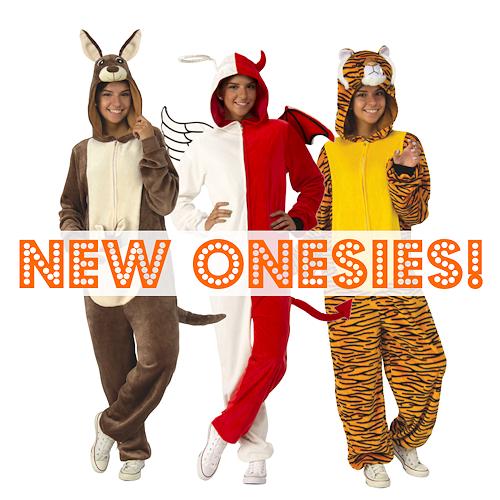 Onesies @ The Costume Shoppe, Calgary, Canada
