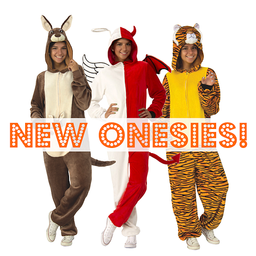 Onesies at The Costume Shoppe!