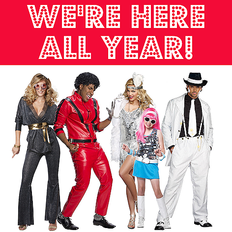 The Costume Shoppe | Open all year! | Shop Online!
