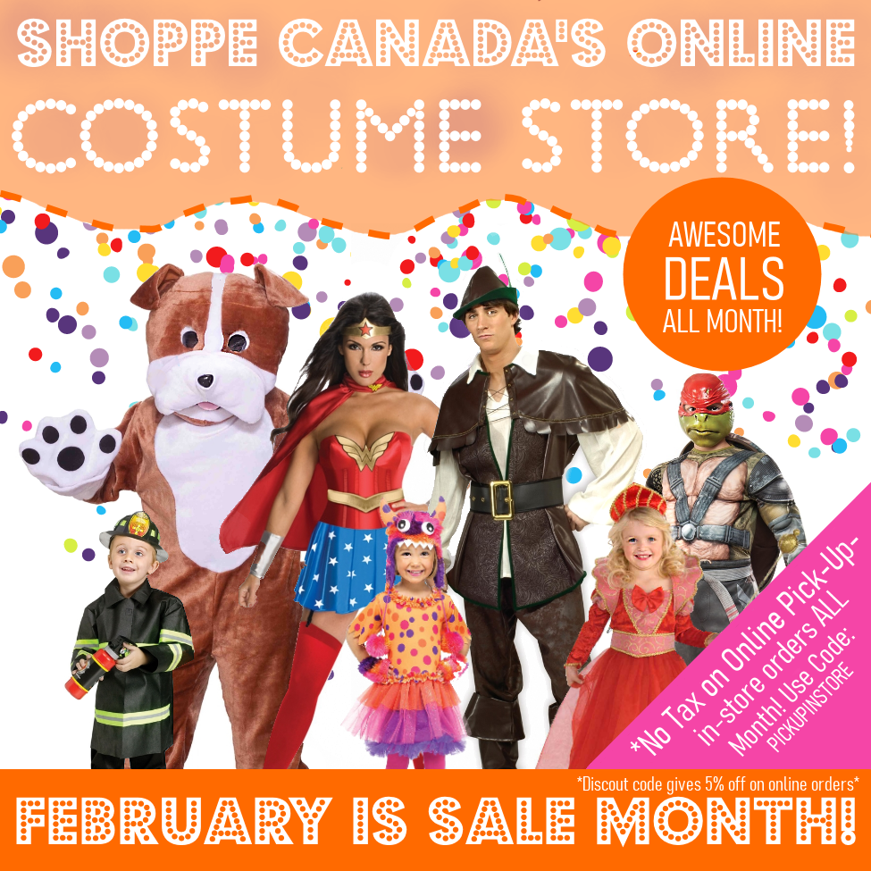 Costumes & Accessories on Sale Now!