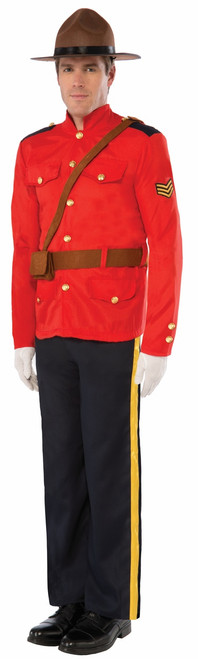 Canadian Rcmp Adult Mountie Costume
