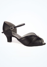 Chaussure de Danse Latine & Salon Dancesteps Sunstone 4cm Noir. [Noir]