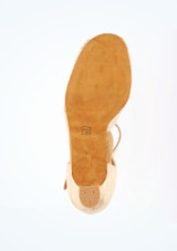 Chaussure de Danse Latine & Salon Diamant Ivonne 4cm Or #3. [Or]