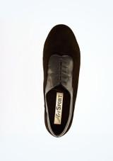 Chaussures de pratique a lacets Solar Ray Rose 3.8 cm Noir superieure. [Noir]