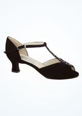 Chaussures danse de salon barre en T Werner Kern Claudia 5.5 cm Noir image principale. [Noir]