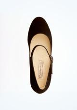 Chaussure danse de salon confort Ashley Werner Kern 4,5 cm Noir superieure. [Noir]