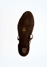 Chaussures danse de salon confort strass Werner Kern 4,5 cm Noir superieure. [Noir]