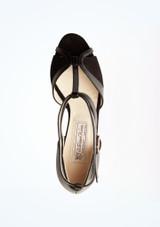 Chaussures de danse Astrid Werner Kern 6,4 cm Noir superieure. [Noir]