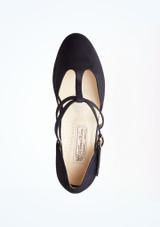 Chaussures de danse Jessie Werner Kern 4,5 cm Bleue superieure. [Bleue]