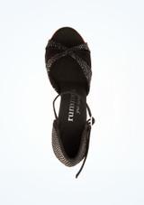Chaussures de danse Amara Rummos 6 cm Noir superieure. [Noir]