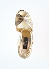 Chaussures de danse Gloria Nueva Epoca 7,6 cm Argent superieure. [Argent]