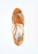 Chaussures de danse Sabine Anna Kern 6 cm Bronze superieure. [Bronze]